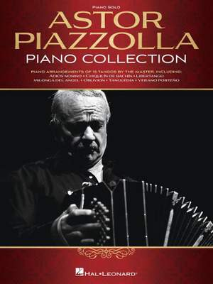Astor Piazzolla: Astor Piazzolla Piano Collection Product Image
