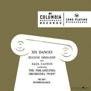 Six Dances by Smetana, Dvorák, Brahms, Fernández and Glière