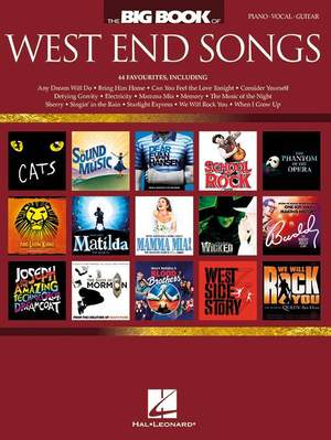 The Big Book of West End Songs Product Image