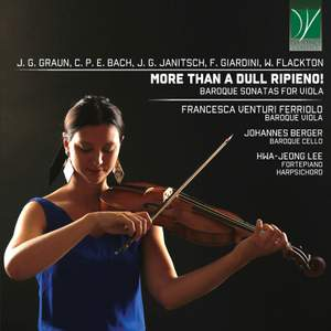 More than a Dull Ripieno! Baroque Sonatas for Viola