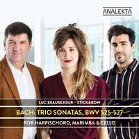Bach: Trio Sonatas, BWV 525-527 for Harpsichord, Marimba & Cello