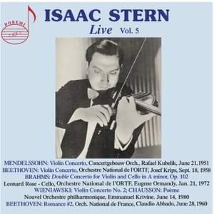 Isaac Stern Live, Vol.5