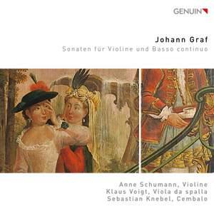 Johann Graf; Sonatas for Violin and basso continuo