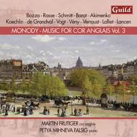 Monody - Music for Cor Anglais Vol. 3