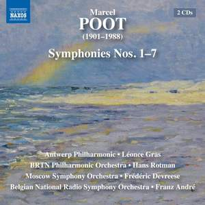 Marcel Poot: Symphonies Nos. 1-7 Product Image