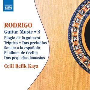 Rodrigo: Guitar Music 3