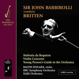 Britten: Sinfonia da Requiem, Violin Concerto