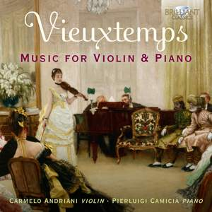Vieuxtemps: Music For Violin and Piano Product Image
