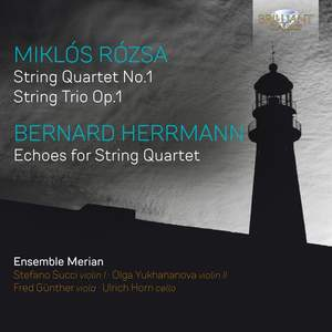 Rozsa & Herrmann: Music For String Quartet