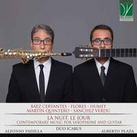 La nuit, le jour, Contemporary Music for Saxophone and Guitar