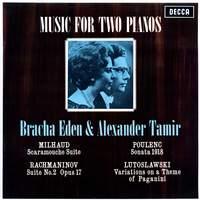 Music for Two Pianos - Milhaud; Rachmaninov; Poulenc; Lutoslawski