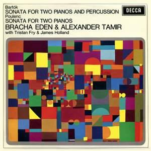 Bartók: Sonata for Two Pianos & Percussion; Poulenc: Sonata for Two Pianos