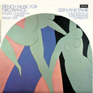 French Music for Two Pianos; Poulenc; Debussy; Satie