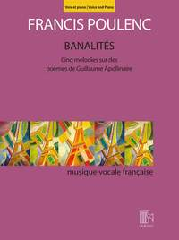 Francis Poulenc: Banalités