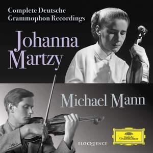 Johanna Martzy & Michael Mann: Complete Deutsche Grammophon Recordings