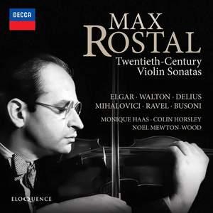 Max Rostal: 20th-Century Violin Sonatas