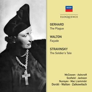 Gerhard: The Plague, Walton: Façade & Stravinsky: The Soldier's Tale