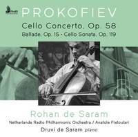 Prokofiev: Cello Concerto, Op. 58; Ballade For Cello & Piano