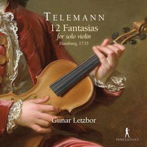 Georg Philipp Telemann: 12 Fantasias For Solo Violin
