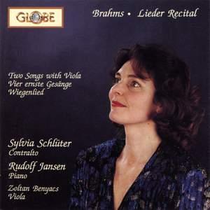 Brahms: Lieder Recital