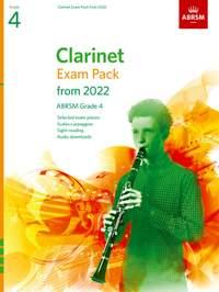 ABRSM: Clarinet Exam Pack from 2022, ABRSM Grade 4