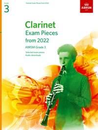 ABRSM: Clarinet Exam Pieces from 2022, ABRSM Grade 3