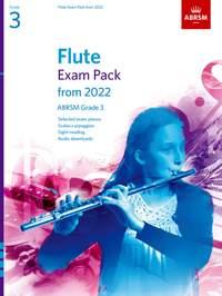 ABRSM: Flute Exam Pack from 2022, ABRSM Grade 3