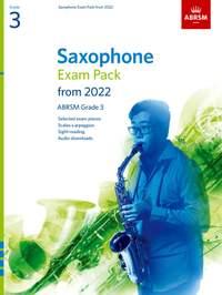 ABRSM: Saxophone Exam Pack from 2022, ABRSM Grade 3