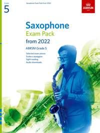 ABRSM: Saxophone Exam Pack from 2022, ABRSM Grade 5