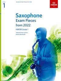 ABRSM: Saxophone Exam Pieces from 2022, ABRSM Grade 1