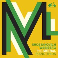 Shostakovich, Weinberg: 3 Piano Trios