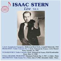 Isaac Stern, Vol. 6 (Live)