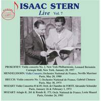 Isaac Stern Live, Vol. 7