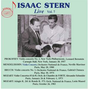 Isaac Stern Live, Vol. 7 Product Image