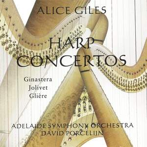 Harp Concertos: Ginastera / Jolivet / Glière Product Image