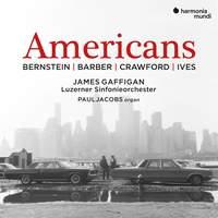 Americans. Bernstein / Barber / Crawford / Ives