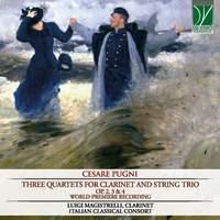 Pugni: Three Quartets for Clarinet and String Trio