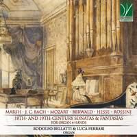 18th- and 19th-century Sonatas & Fantasias, for Organ 4-hands