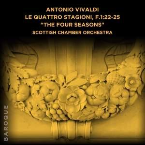 Antonio Vivaldi: Le quattro stagioni, F.1:22-25 Product Image