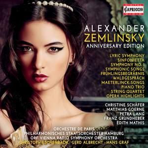 Alexander Zemlinsky: Anniversary Edition Product Image