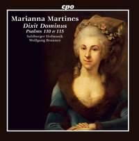Martines: Psalms & Symphony in C major