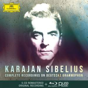 Karajan: Complete Sibelius Recordings On DG Product Image