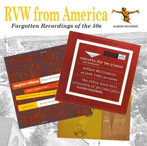 RVW from America: Forgotten Recordings of the 50s Product Image