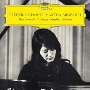 Chopin: Piano Sonata No. 3 in B Minor, Op. 58 & Scherzos, Baracolle, Mazurkas, Polonaises Product Image