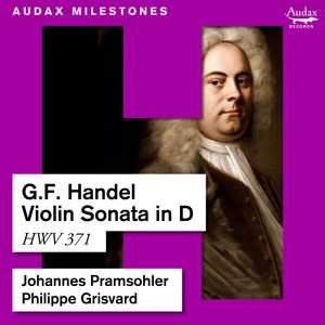 Handel: Violin Sonata in D, HWV 371