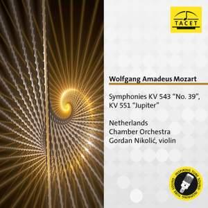 Mozart: Symphonies Nos. 41 & 39