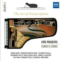 The Art of Transcription - Clarinet, Strings and Piano