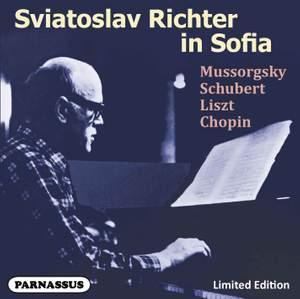 Sviatoslav Richter in Sofia