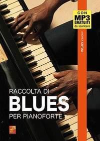 Andrea Cutuli: Raccolta di blues per pianoforte