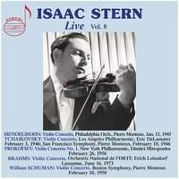 Isaac Stern Live, Vol.8
